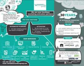 #29 pentru Design a 1 Sheet Marketing Flyer to Promote Our Business Services de către mukokojelissa