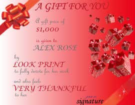 #50 for $1,000 Gift Certificate Design af neha190