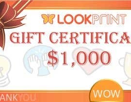 #46 for $1,000 Gift Certificate Design af Ekaterina5