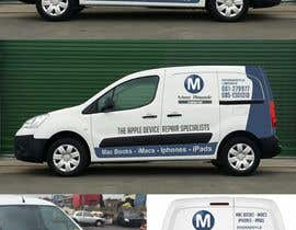 #33 for Design layout for Van graphics (livery) af manhaj