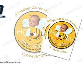 Nro 6 kilpailuun Design a Label for a Jar of Honey - Today! -- 2 käyttäjältä Louiegi