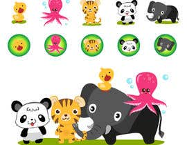 #13 for Matching set of cartoon animals by rnog