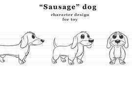 #12 for design sausage dog characters by stants