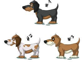 #19 for design sausage dog characters by camilobueno