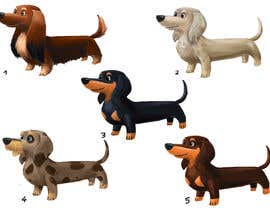 #23 for design sausage dog characters by Milos009