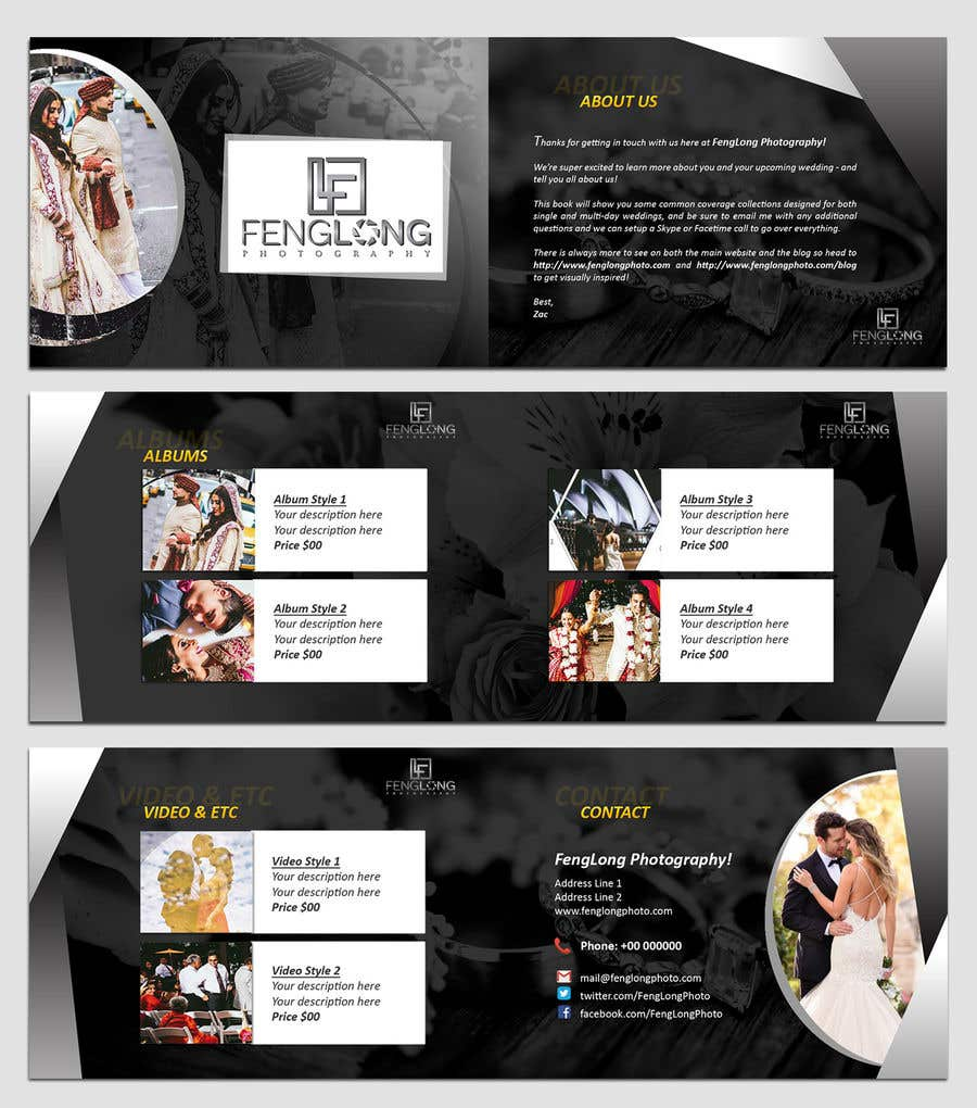 entry 42 by sujithnlrmail for design pricing brochure pdf freelancer