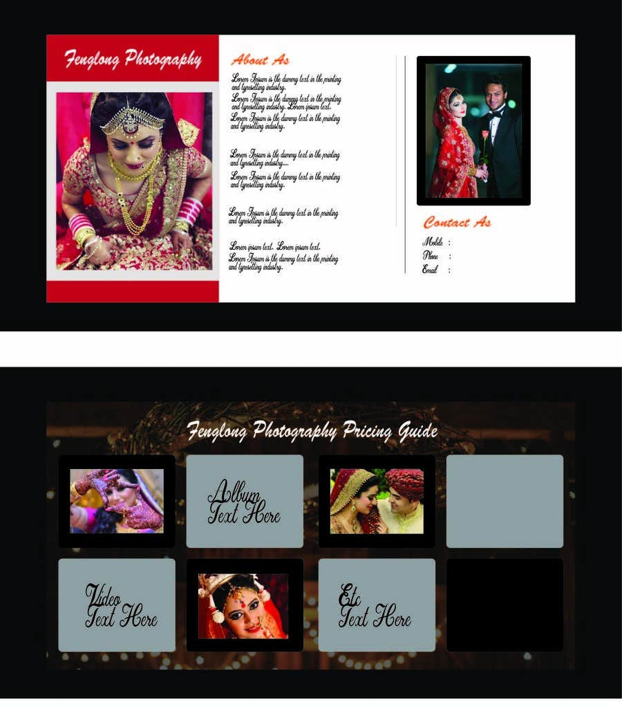 entry 24 by swadjacy for design pricing brochure pdf freelancer