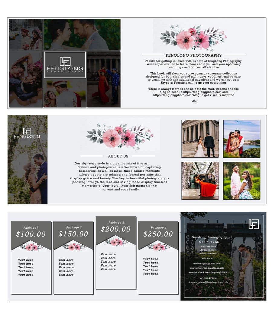 entry 8 by louiegi for design pricing brochure pdf freelancer