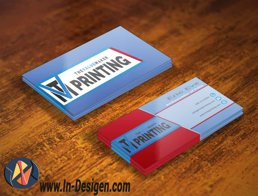 Entry 80 by fourdesigns for design some double sided business cards contest entry 80 for design some double sided business cards for a printing company reheart Image collections