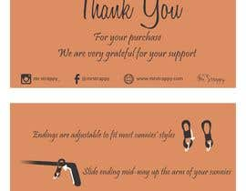Product Purchase Thank You Card Design Freelancer