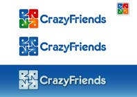 Bài tham dự #297 về Graphic Design cho cuộc thi Logo Design for www.crazyfriends.com