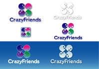 Bài tham dự #208 về Graphic Design cho cuộc thi Logo Design for www.crazyfriends.com