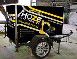 #23 untuk Trailer wrap design for Hoze Hydraulics - Design project oleh TheFaisal