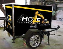 #5 untuk Trailer wrap design for Hoze Hydraulics - Design project oleh BlackMamba2028