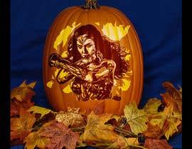 #13 dla Photoshop Action Creation  - 3 Color Carved Pumpkin Mock-Up przez putih2013