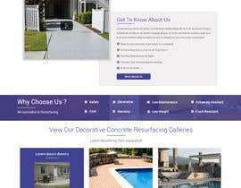 #66 cho Design a website for Nü-step Resurfacing Inc. bởi ravinderss2014