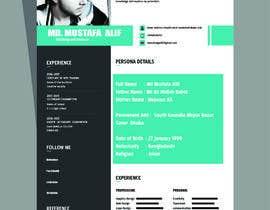 manzkingAHIL tarafından Make a resume CV için no 14