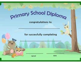create graphics illustrations for achievement certificates for