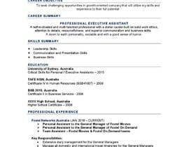 #25 για Create an updated, modernised version of my current RESUME / CV από insereko