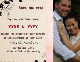 alicetouchais tarafından Design an Email Wedding invitation için no 3