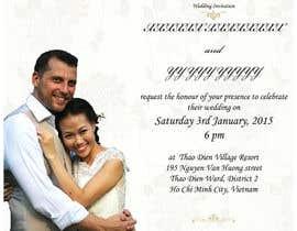 dishavb tarafından Design an Email Wedding invitation için no 12
