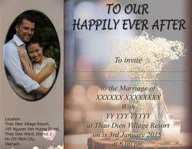 rangathusith tarafından Design an Email Wedding invitation için no 2