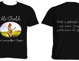 #25 for Design a band shirt for Ali Shield by sirisana03
