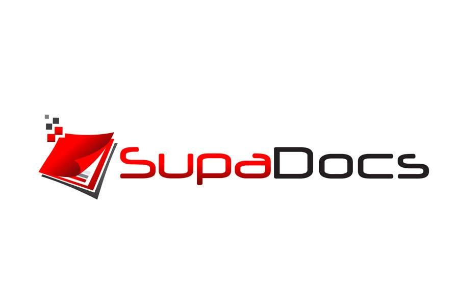 Inscrição nº 361 do Concurso para Logo Design for Supa Docs