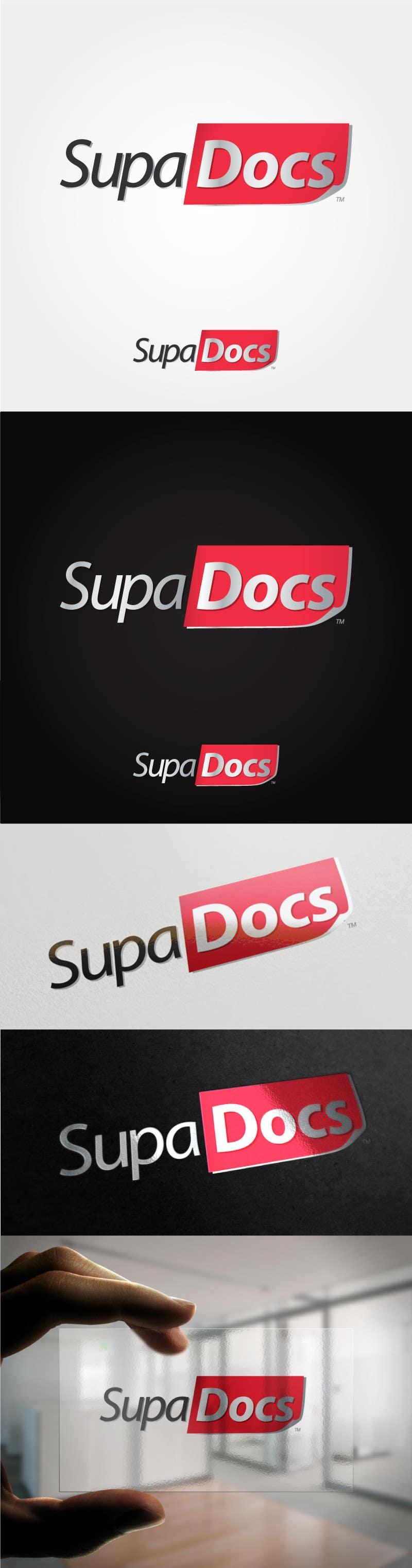Inscrição nº 276 do Concurso para Logo Design for Supa Docs