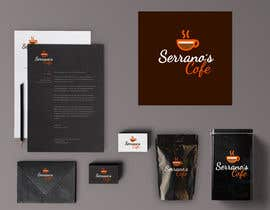 #287 for design  restaurant/ bar  mock up af alldesign89