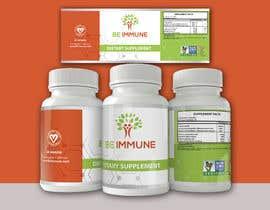 #6 cho Supplement Product Label Design - Be Immune bởi Visualinkpresion