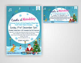 istykristanto tarafından Design 2x Flyers for Christmas Carols at Mandalay için no 36