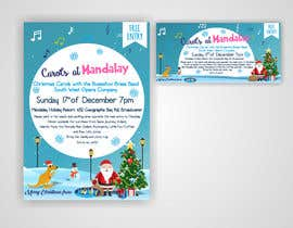 istykristanto tarafından Design 2x Flyers for Christmas Carols at Mandalay için no 38