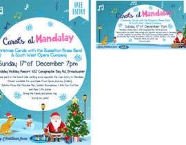 istykristanto tarafından Design 2x Flyers for Christmas Carols at Mandalay için no 41