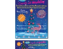 theotonious225 tarafından Design 2x Flyers for Christmas Carols at Mandalay için no 42