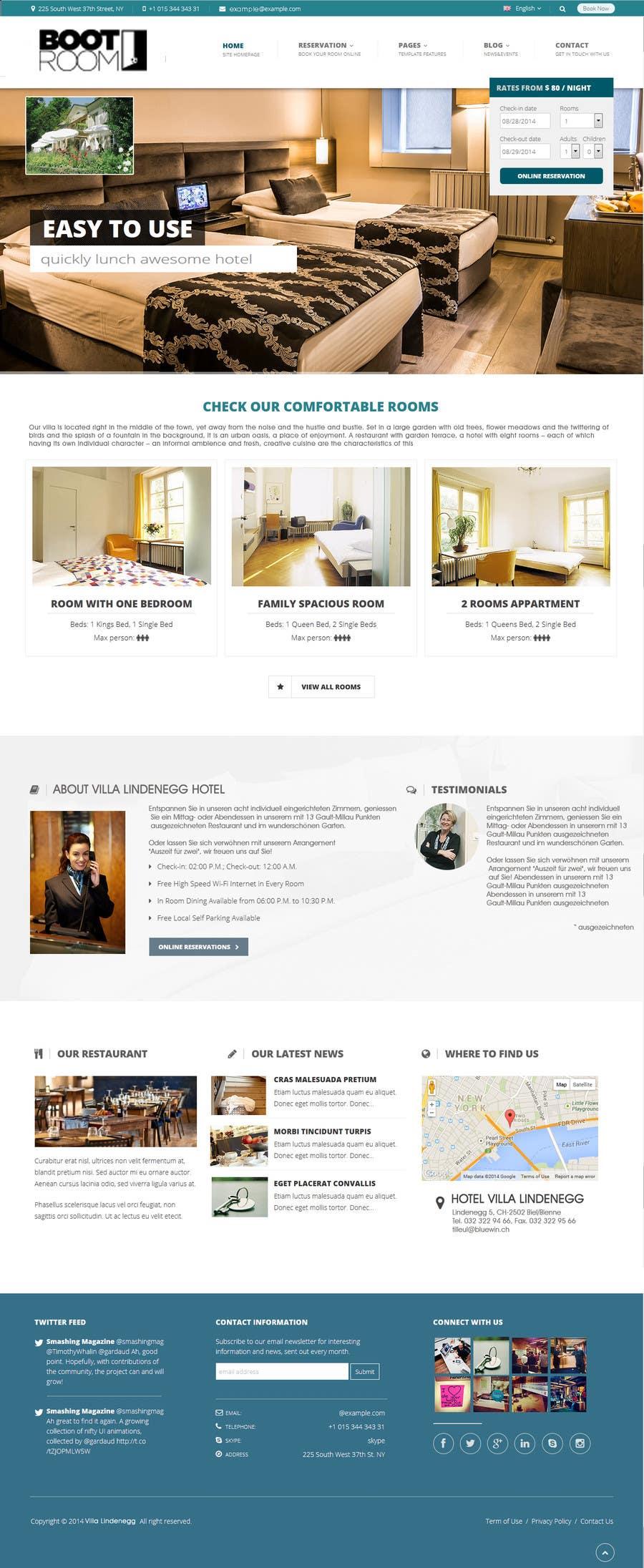 Bài tham dự cuộc thi #                                        5                                      cho                                         Revamp website & make it look premium