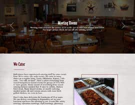 #32 for Design a Website Mockup for BBQ Restaurant by Batto14