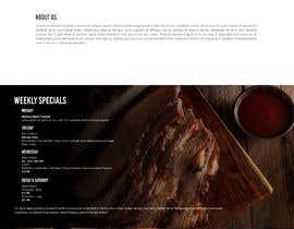 #48 for Design a Website Mockup for BBQ Restaurant by AquimaWeb