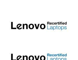 "#6 for Create a logo that says ""Lenovo Recertified Laptops"" by melyaalaoui"