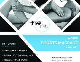 #122 cho Sports massage flyer bởi ByteZappers