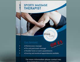 #107 for Sports massage flyer by yeadul