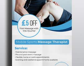 #118 for Sports massage flyer by tannish27