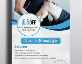#119 cho Sports massage flyer bởi tannish27