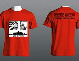 #48 for Design a t-shirt for Washington DC, New York & Boston Trip af bmharun99