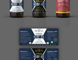 #10 , CBD product label for new company 来自 mohamedgamalz