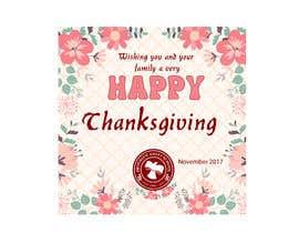 tarikulkerabo tarafından THANKSGIVING CARD için no 13