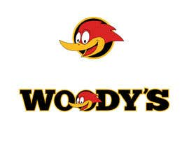 #35 untuk Re-Design a Logo for Woody's Tree Service - Infamous Woody Woodpecker oleh SabreToothVision
