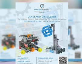Elly21 tarafından Design and Create a poster for our Robotics Competition için no 23