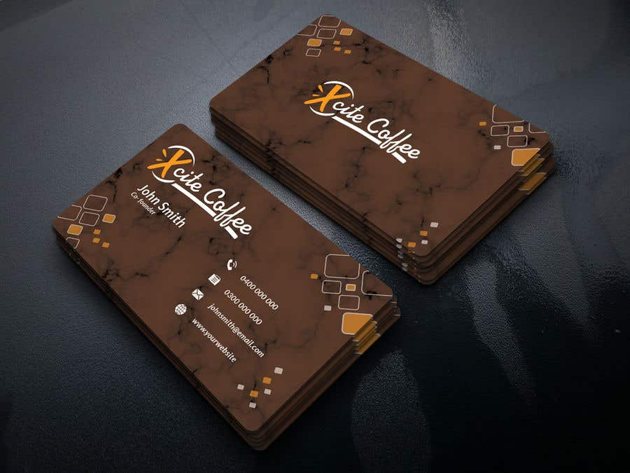Entry #174 by originative71 for Drive Thru Coffee Shop Business Card ...