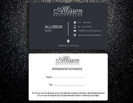 #102 for Design a Business Card for a beautysalon af rtaraq
